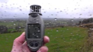 Zware windstoten nabij Aubel / Henri-Chapelle op 16 december 2011 Video