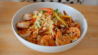 Mango Shrimp Salad - Fresh Fruity Salad Recipe