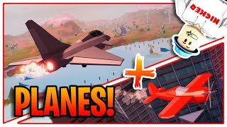 Roblox Jailbreak PLANES UPDATE OUT NOW! ✈️ | NEW MILLION DOLLAR JET + STUNT PLANE!! | LIVE 🔴