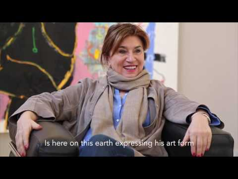 Gallery Director Roxana Pirovano from Galerie Proarta discussed meeting Adébayo Bolaji