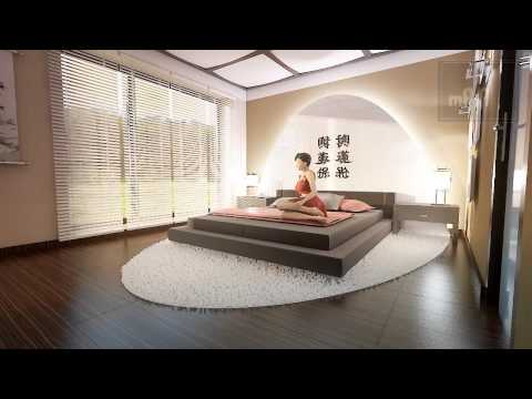 Schlafzimmer Design im zeitgenössischen Stil