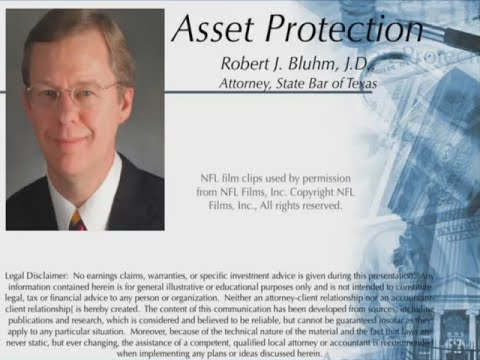 Exclusive Video Training: Asset Protection by Bob Bluhm