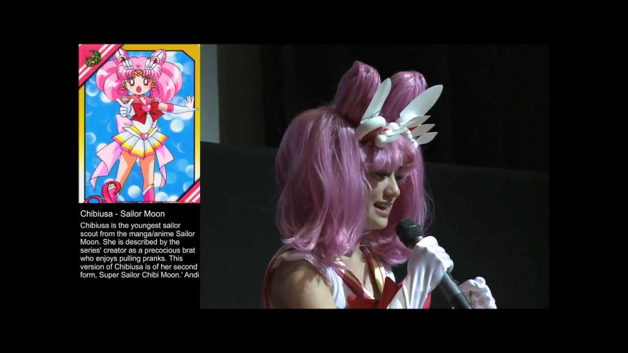 Super Sailor Chibi Moon Cosplay Goma Youtube