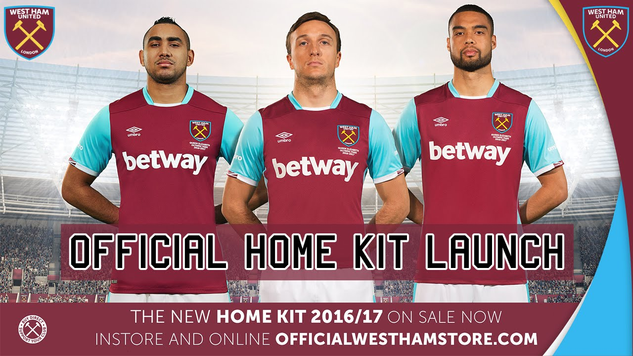 low cost f1f8f 7438b ⚒ REVEALED: WEST HAM UNITED 2016/17 HOME KIT LAUNCH ⚒