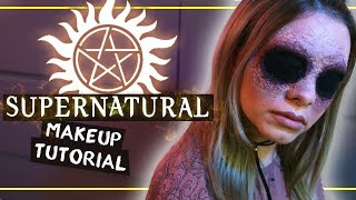 B L I N D E D - SUPERNATURAL Inspired Halloween Makeup Tutorial | #spooktober