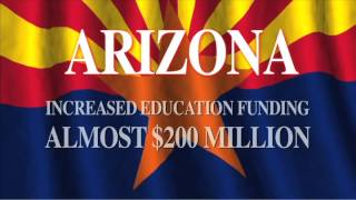 Senator Al Melvin Supports Education Funding While Balancing Arizona's State Budget