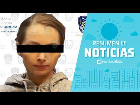 Detienen a la youtuber YosStop, resumen de noticias matutino