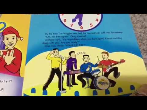 Wake Up Jeff The Wiggles Tell The Time Story Book Youtube
