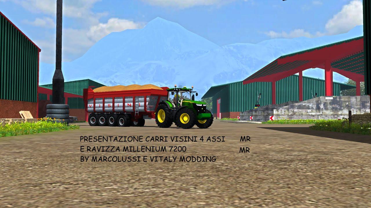 Test mods carri ravizza e visini 4 assi in more realistic for Ravizza rimorchi