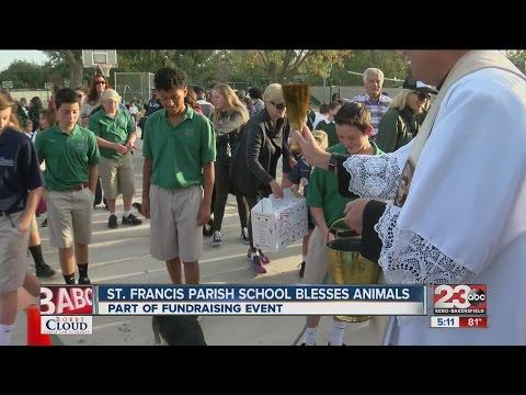 St. Francis Parish School blesses animals
