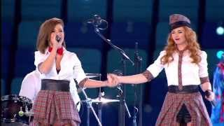 (HD) Тату - Нас не догонят / Live in Sochi 2014 / t.A.T.u. - Not gonna get us