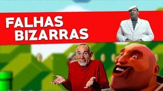 BUGS E FALHAS GROTESCAS DOS VIDEOGAMES!