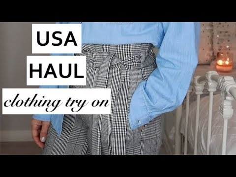 USA CLOTHING TRY ON HAUL 👗 CLOTHES I BOUGHT IN AMERICA 👗 THE JO DEDES AESTHETIC