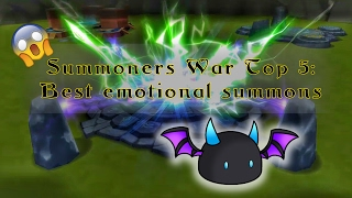 Summoners War Top 5  :Best emotional Summon Part 2