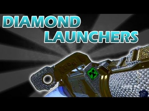 Black Ops 2 All DIAMOND Launchers SMAW, FHJ-18 AA and RPG (BO2 Gameplay)
