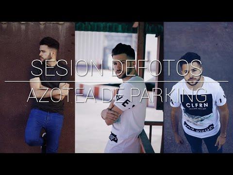 SESIÓN de fotos en una AZOTEA de un PARKING - JRP