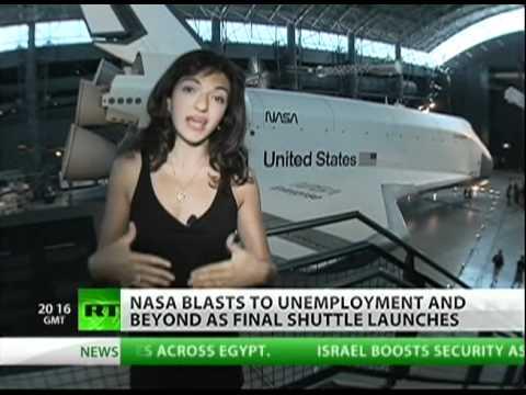 Last shuttle Atlantis launch: End to NASA 'space jobs'?