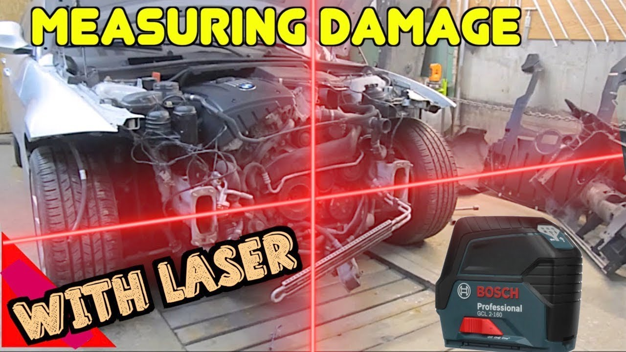How To Use a Laser to Measure Auto Body Car Frame Damage ...