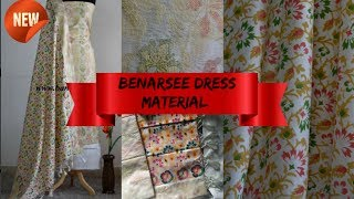 Benarsee Suit || Unboxing and Review || Banarasi Dress material || Banarasi suit