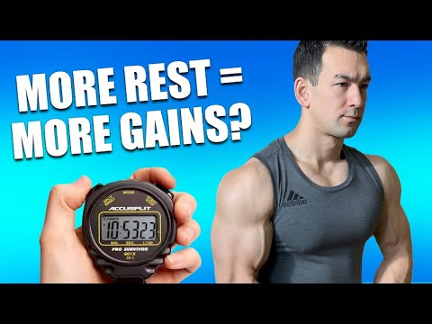 Rest LONGER Between Sets For Faster Muscle Gains
