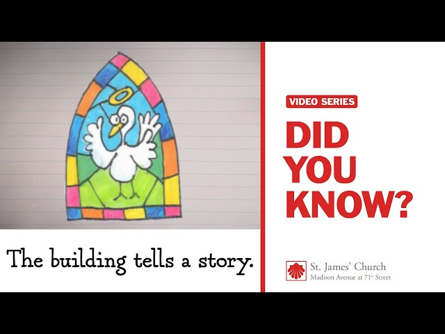 Did You Know? The building tells a story.
