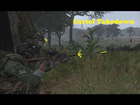 Cartel Takedown - Arma 3 Lingor mission