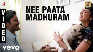 Cover images 3 (Telugu) - Nee Paata Madhuram Video | Dhanush, Shruti | Anirudh