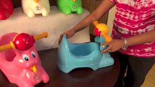 Riding Potty Chair by Potty Scotty and Potty Patty