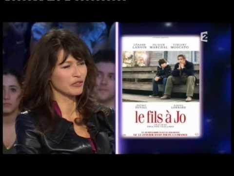 Karina Lombard et Olivier Marchal  On n'est pas couché 8 janvier 2011 ONPC