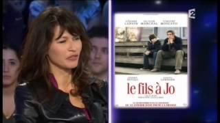 Karina Lombard et Olivier Marchal - On n'est pas couché 8 janvier 2011 #ONPC