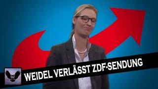 Warum Alice Weidel die ZDF-Sendung verlassen hat