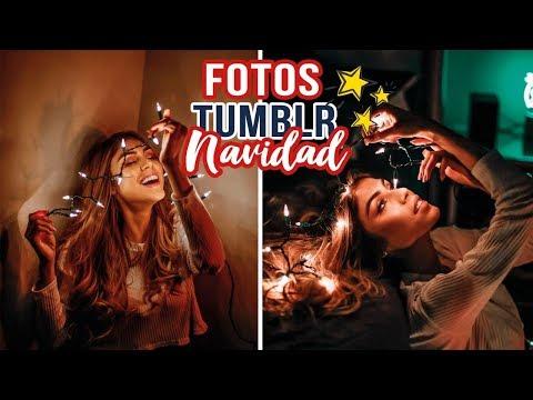 Creando FOTOS TUMBLR de NAVIDAD! - pautips