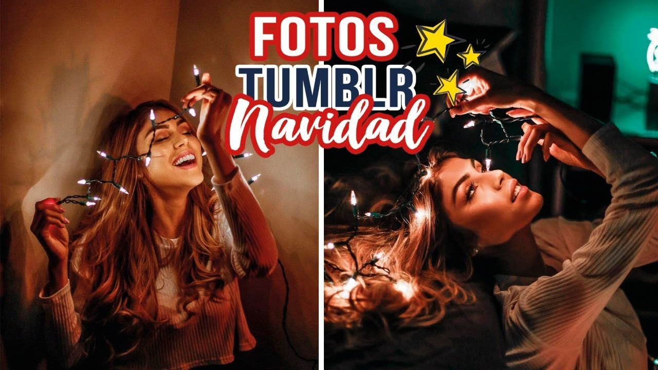 [VIDEO] - Creando FOTOS TUMBLR de NAVIDAD! - pautips 1