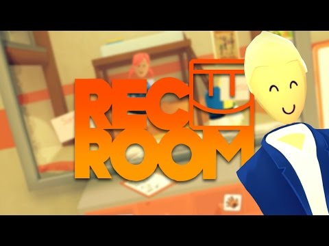 TALKING TO STRANGERS, AND MAKING FRIENDS IN VIRTUAL REALITY! | Rec Room #1