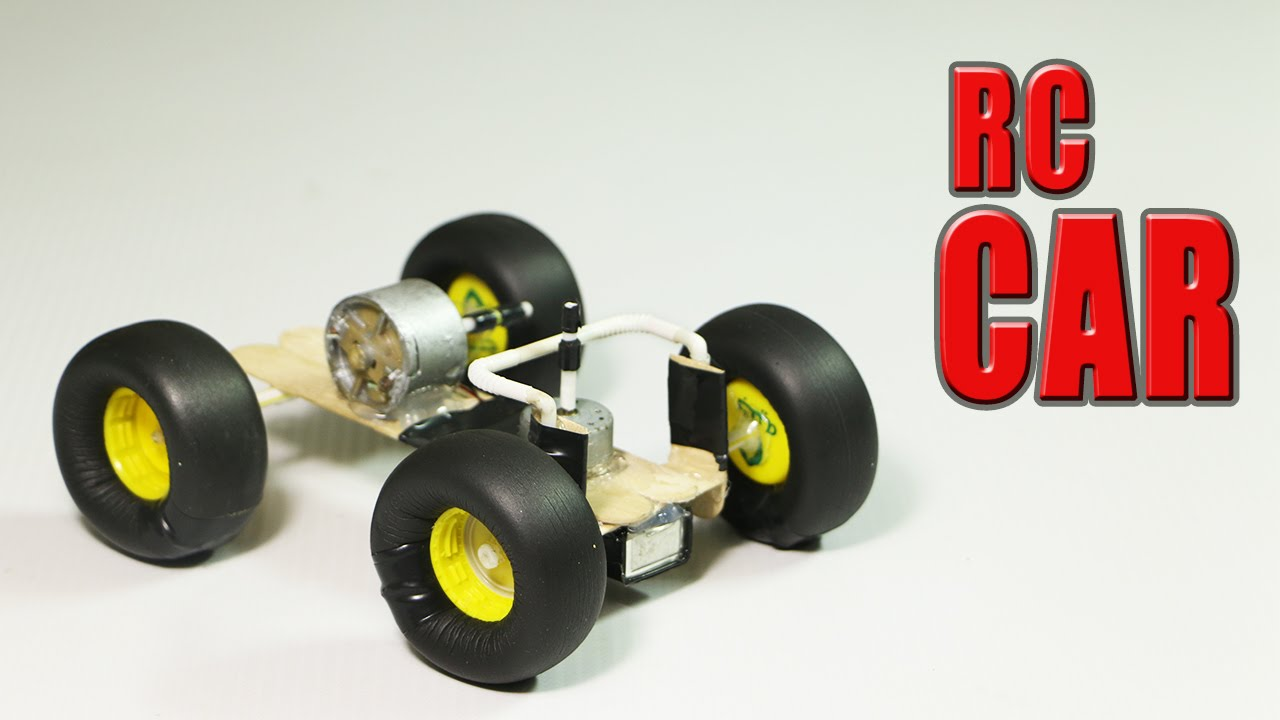 Make A Car >> How To Make A Simple Rc Car That Goes In All Directions Youtube