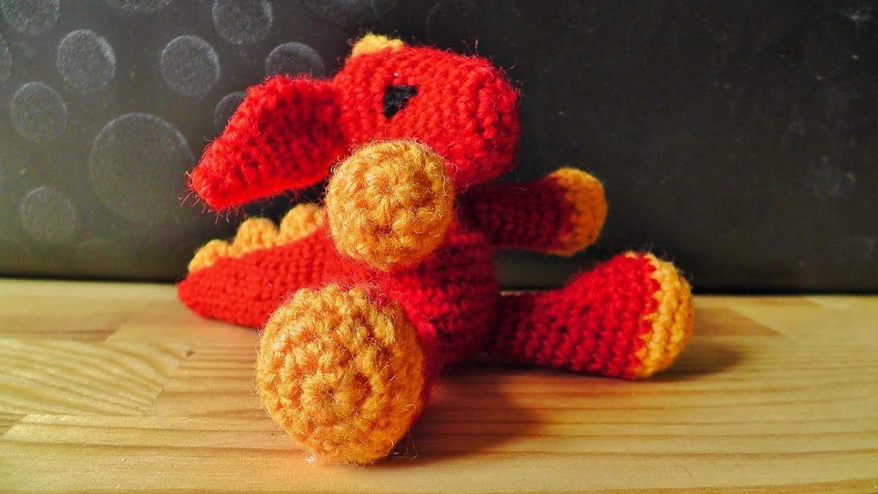Tutorial Esfera Amigurumi : Amigurumi dragon crochet tutorial part 2 youtube
