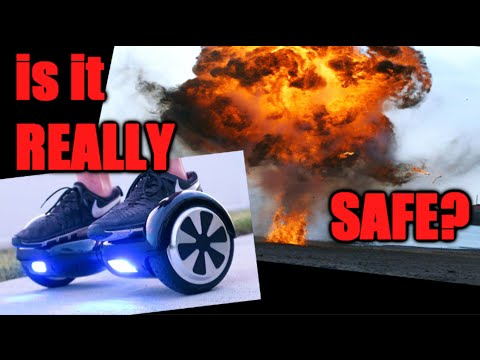 Hoverboards, how dangerous are they?