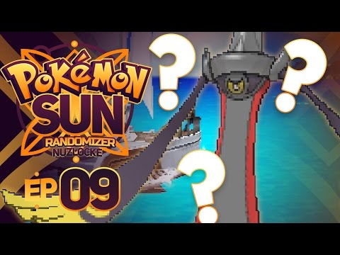 DOES IT HAVE SHADOW SNEAK!? - Pokémon Sun & Moon RANDOMIZER Nuzlocke Episode 9!