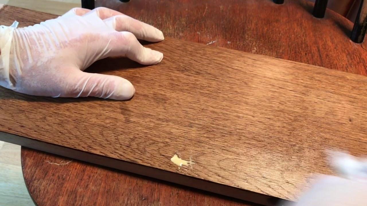 Vernis Ou Vitrificateur Sur Un Meuble Peint comment savoir si un bois est ciré ou vernis