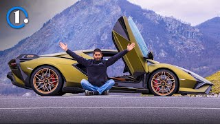 Is this the LAST V12? Lamborghini SIAN review (819 PS, 3 MLN €)
