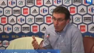 Laurent Blanc et sa nouvelle Equipe de France