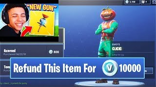 *NEW REFUND Items get your V-bucks BACK | Fortnite SAVAGE & FUNNY Moments