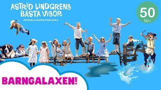 50 minuter Astrid Lindgren! Alla musikvideos i följd (Pippi, Emil, Ronja, Madicken med flera) YouTube Videos