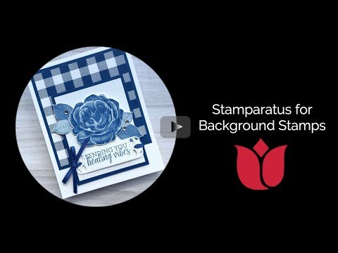 How To Use The Stamparatus For Background Stamps