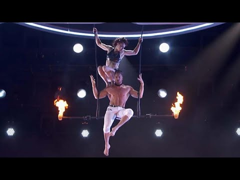 America's Got Talent: Husband and Wife Trapeze Stunt Gone Wrong