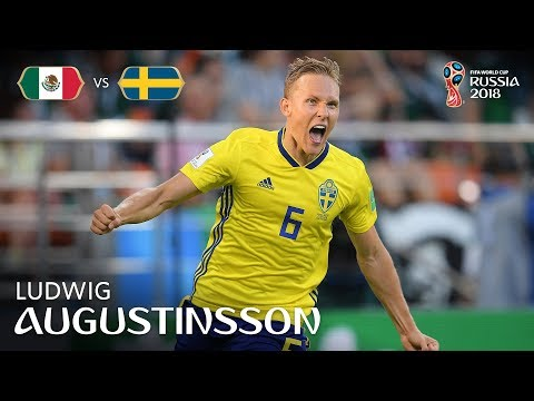 Ludwig AUGUSTINSSON Goal - Mexico V Sweden - MATCH 44