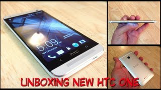 Unboxing new HTC One  Primeras impresiones