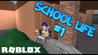 [ROBLOX] Thunder's School Life #1 - The first day of school