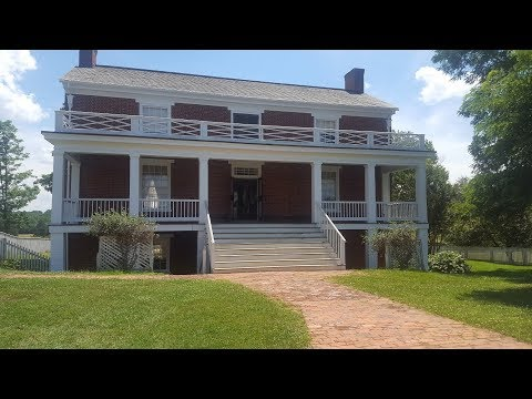 Appomattox  Courthouse--where the Civil War ended