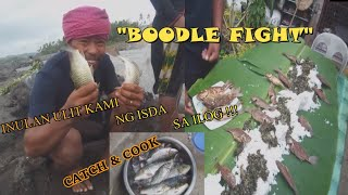 Catch and Cook Boodle Fight Tilapia Karpa Fishing BOBKUBOS TV VLOG 03